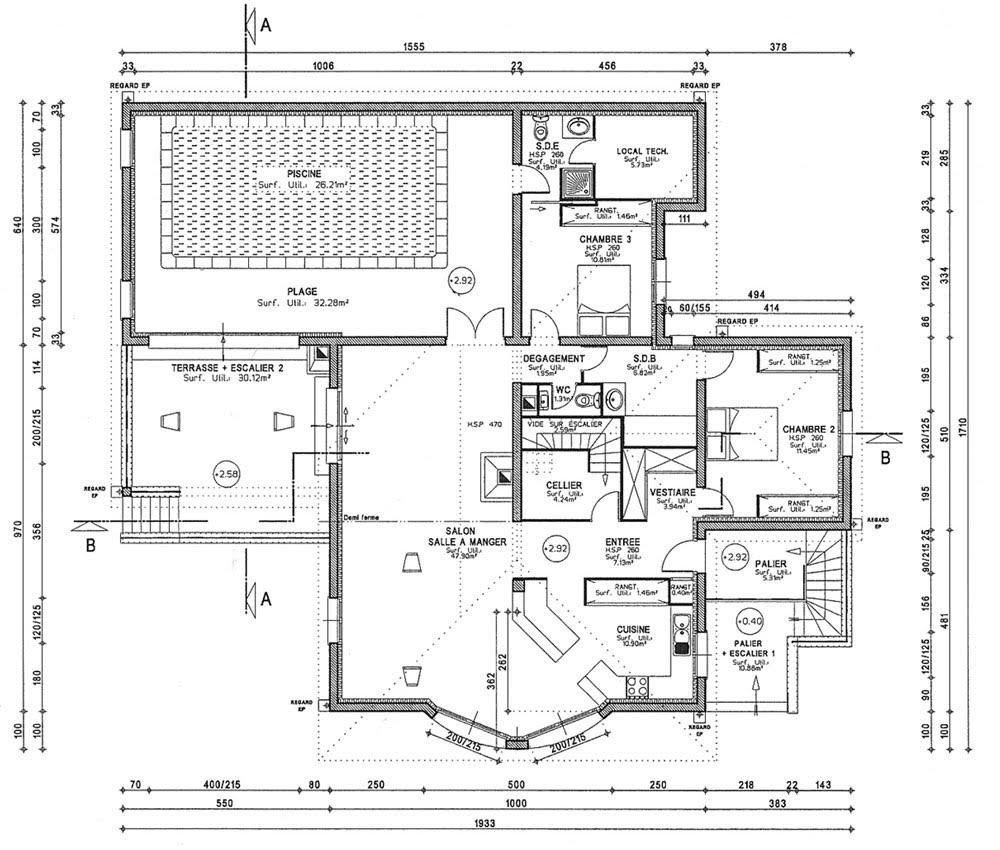 Dessiner plan d'une cuisine - Atwebster.fr - Maison et mobilier
