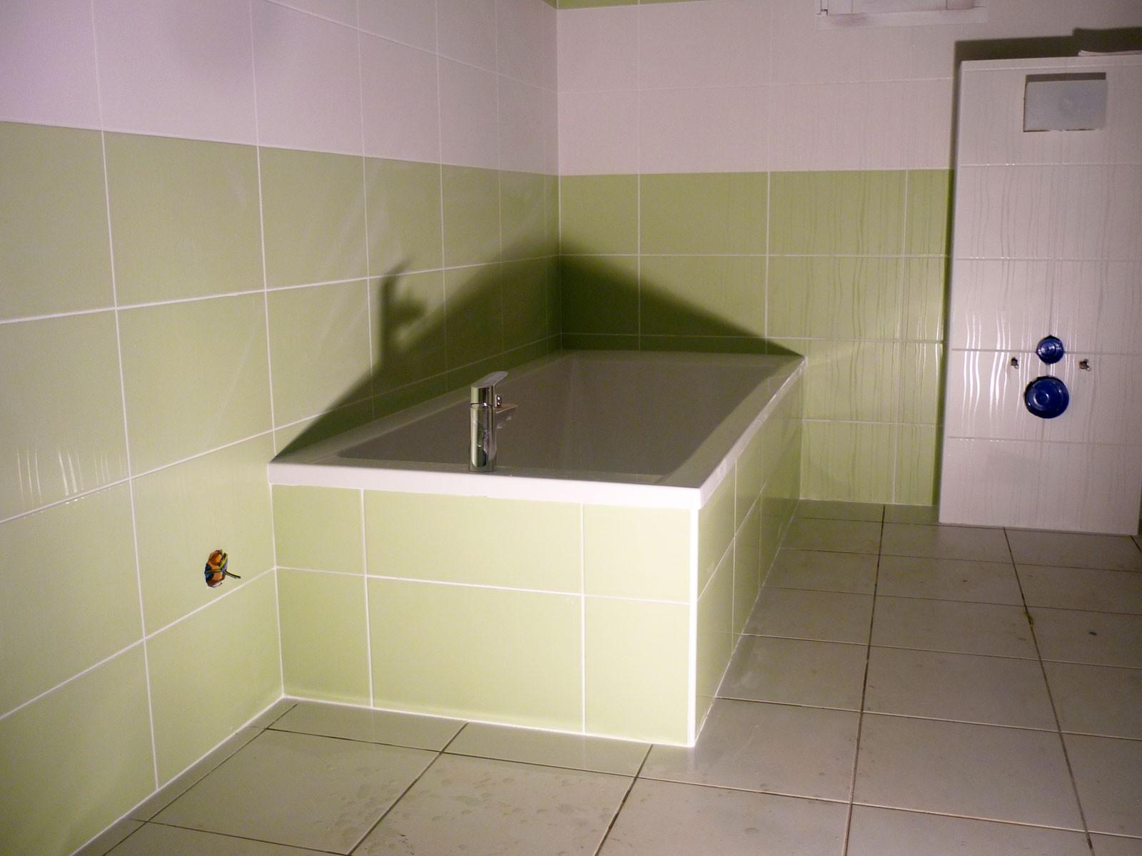 Carreler autour baignoire - Atwebster.fr - Maison et mobilier
