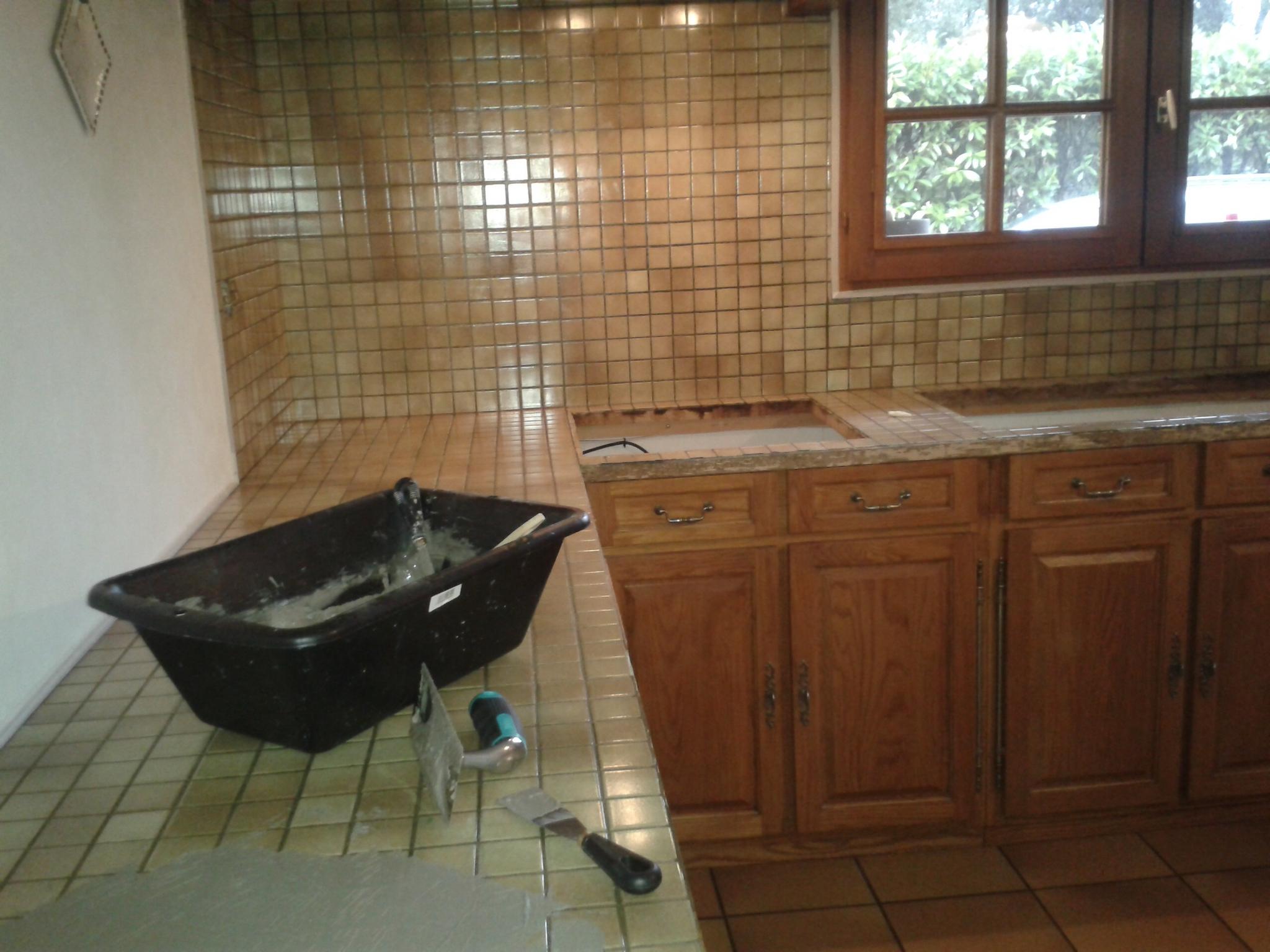 faire un plan de travail cuisine en b ton. Black Bedroom Furniture Sets. Home Design Ideas