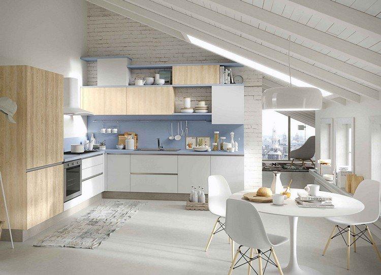 Couleur mur cuisine brique - Atwebster.fr - Maison et mobilier