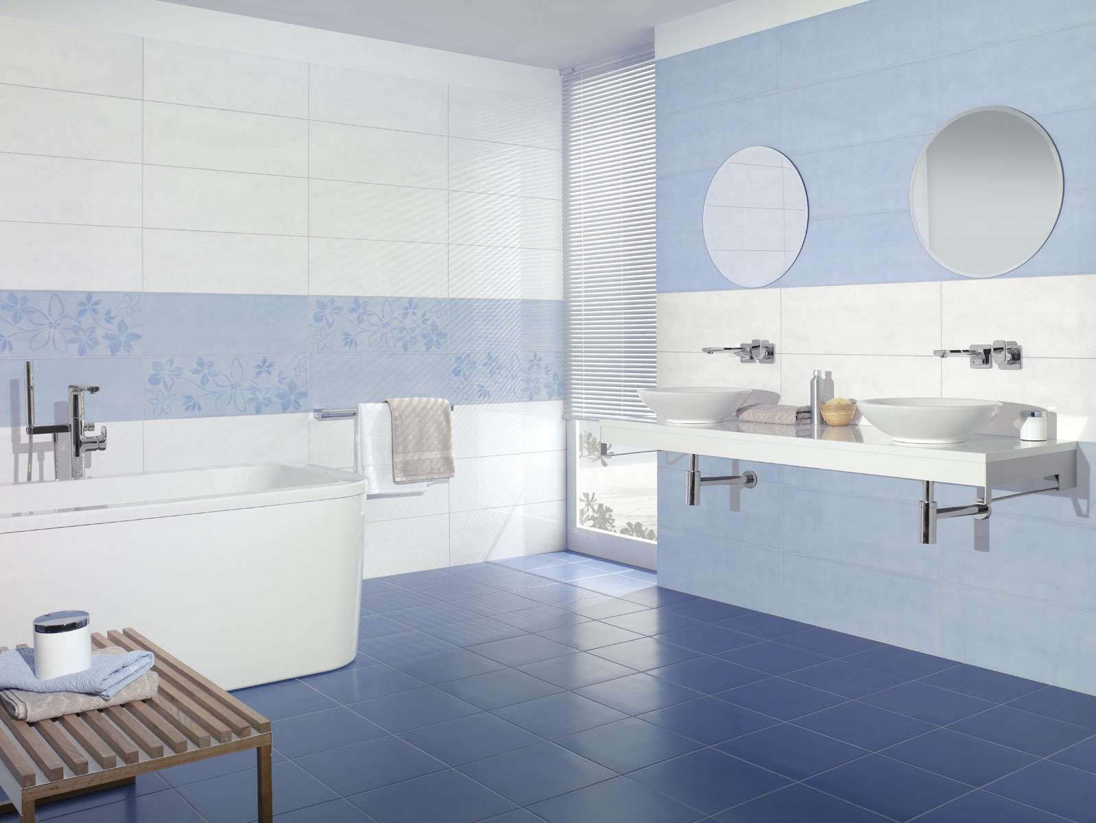 Carrelage mural bleu lagon - Atwebster.fr - Maison et mobilier