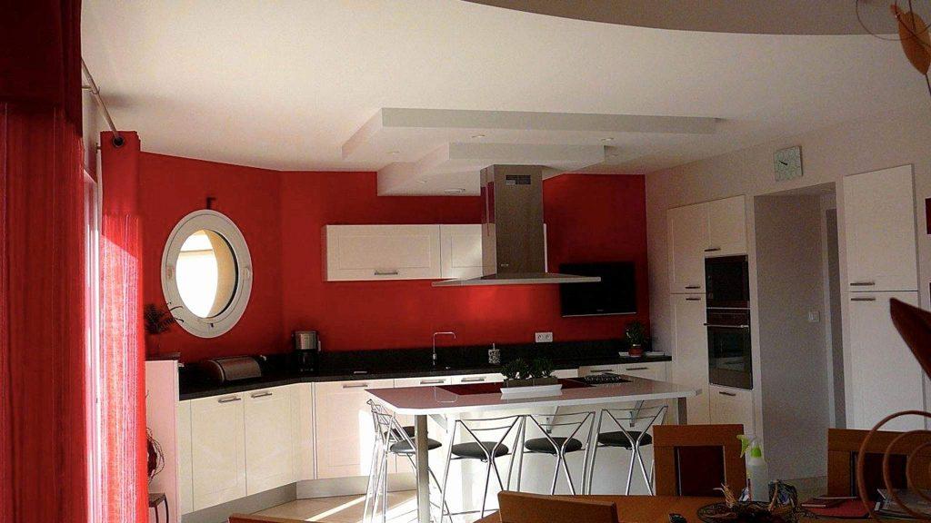 Couleur mur cuisine rustique maison et mobilier - Couleur mur cuisine ...