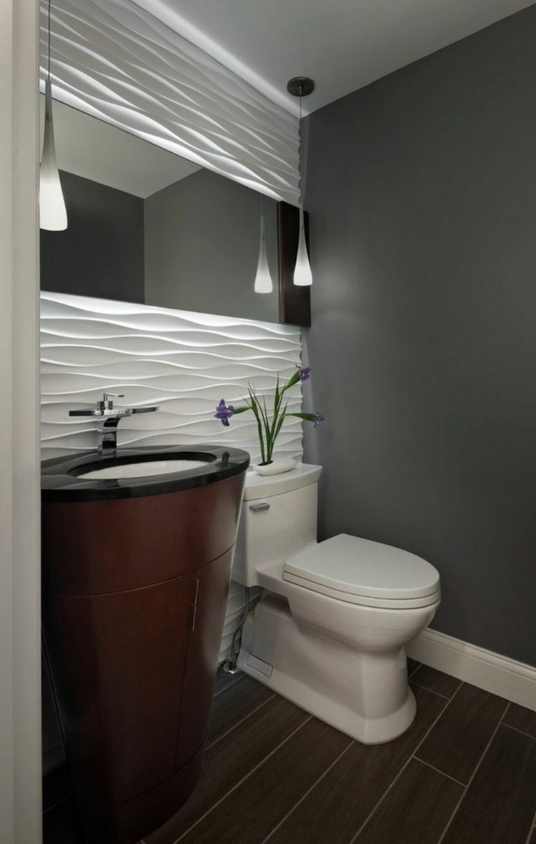 Couleur peinture salle de bain+carrelage blanc - Atwebster.fr - Maison et mobilier