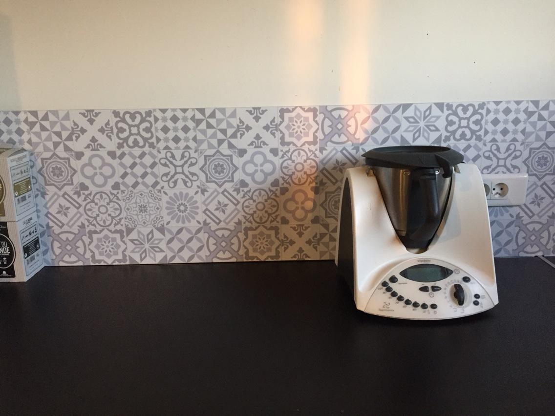 Bricorama stickers carrelage maison et - Credence adhesive cuisine leroy merlin ...