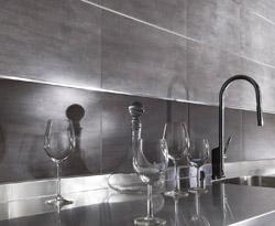 Carrelage mur cuisine gris maison et mobilier - Materiel pour carrelage ...