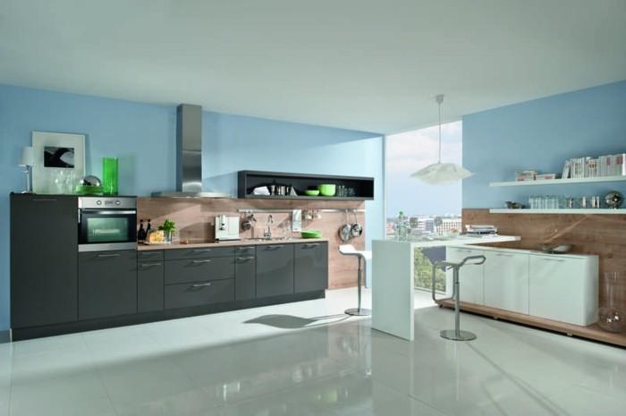 Carrelage gris anthracite cuisine - Atwebster.fr - Maison et mobilier