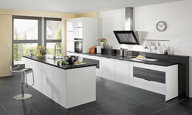 Agreable Carrelage Gris Anthracite Cuisine