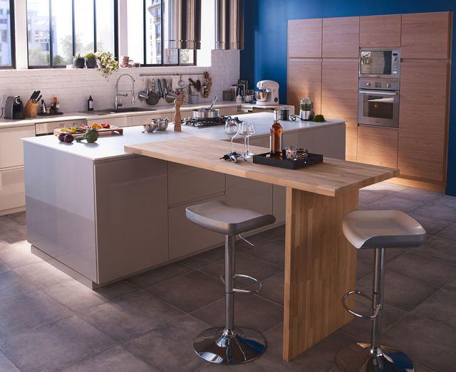 plan travail pour bar cuisine maison et. Black Bedroom Furniture Sets. Home Design Ideas