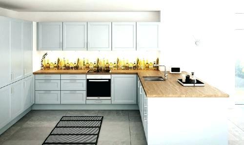 Plan travail cuisine blanc laqu maison et mobilier - Cuisine bois et blanc laque ...