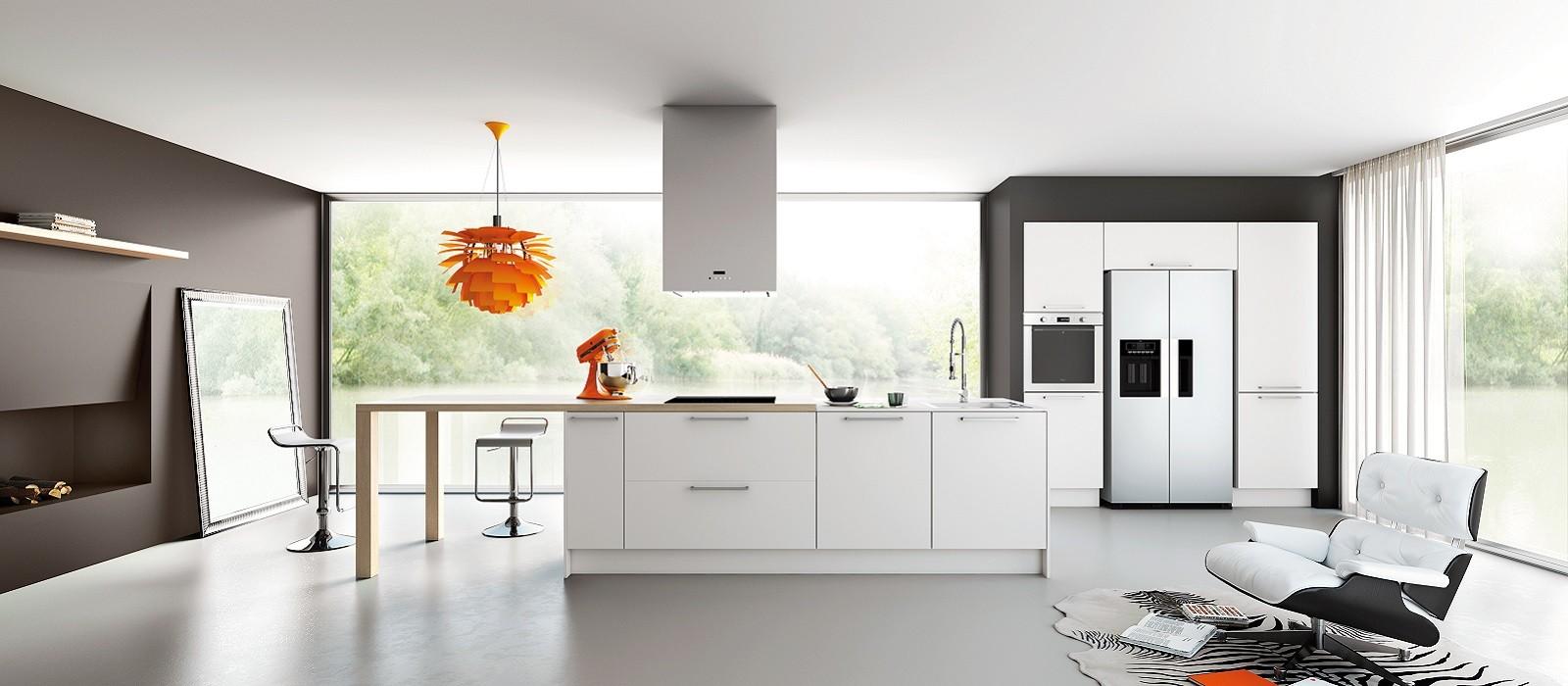 Modèle cuisine équipée contemporaine - Atwebster.fr - Maison et mobilier