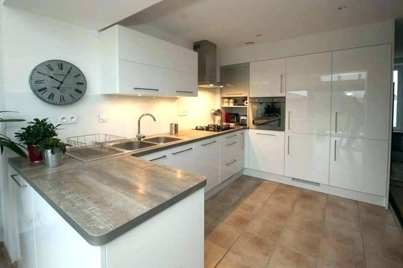 Photos cuisine blanc laqu maison et mobilier - Facade cuisine laque ...