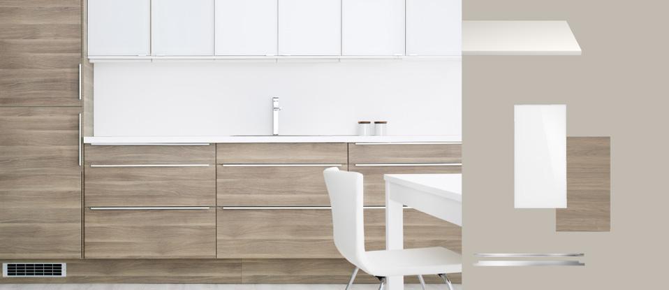 cuisine ikea faktum grise maison et mobilier. Black Bedroom Furniture Sets. Home Design Ideas