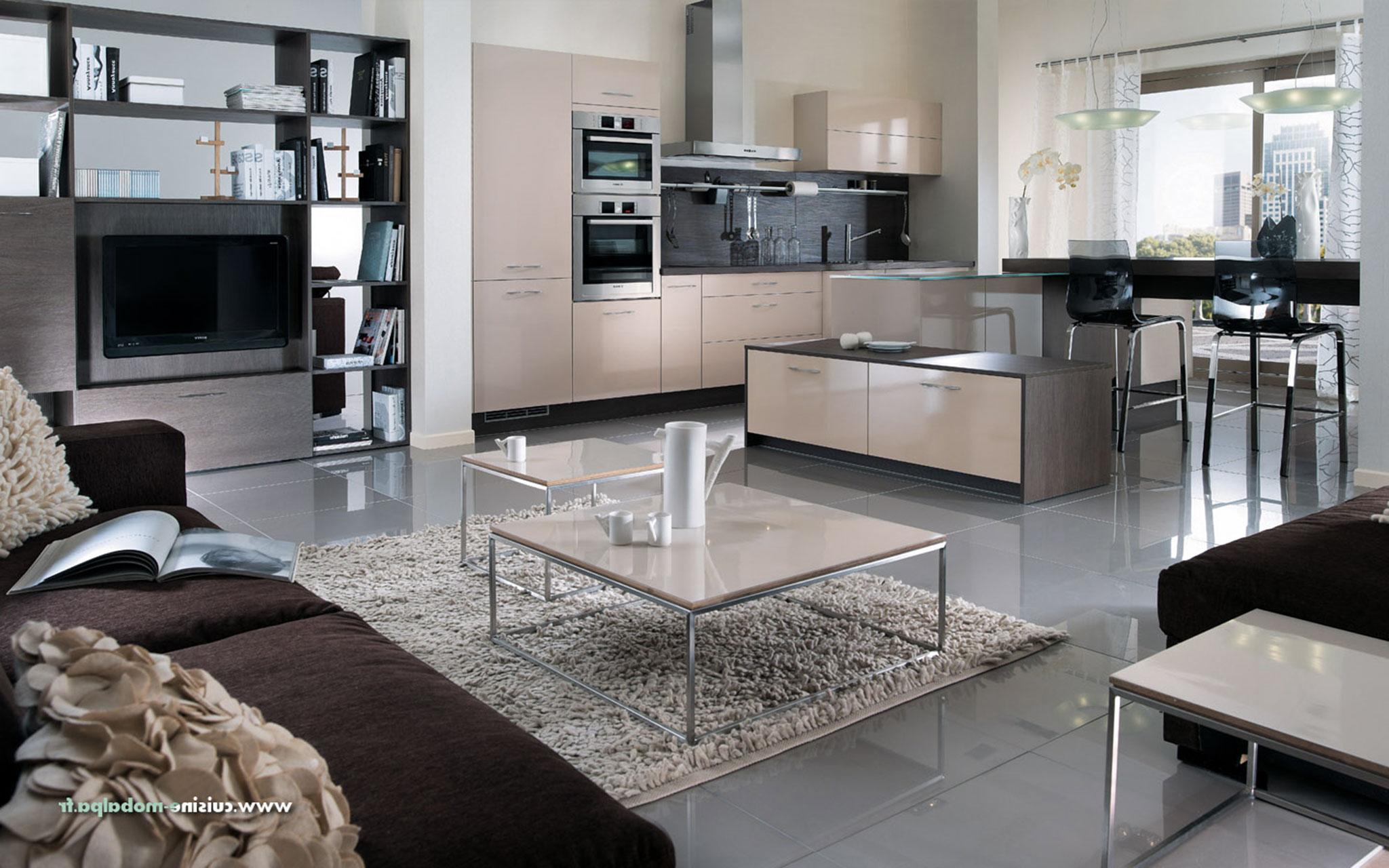 Cuisine mobalpa kiffa sable maison et mobilier - Mobalpa cuisine plan de travail ...