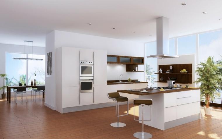 Plan maison cuisine semi ouverte - Atwebster.fr - Maison et mobilier