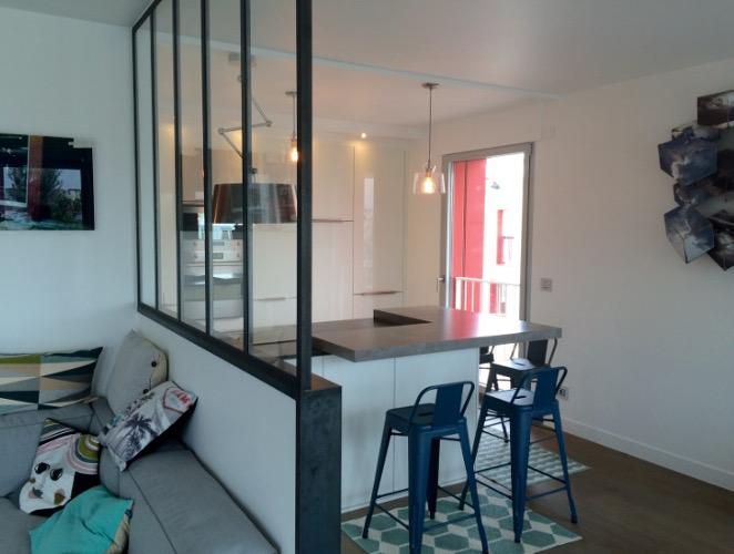 Modele de cuisine avec verrière - Atwebster.fr - Maison et mobilier