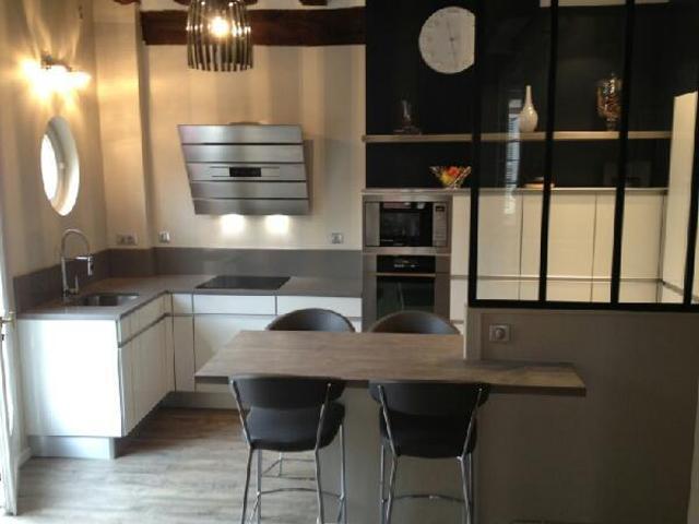 Modele cuisine avec verrière - Atwebster.fr - Maison et mobilier