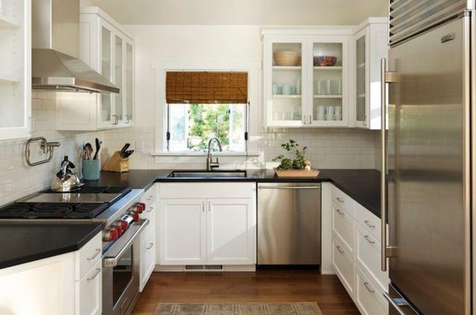Decoration de petite cuisine moderne - Atwebster.fr - Maison et mobilier