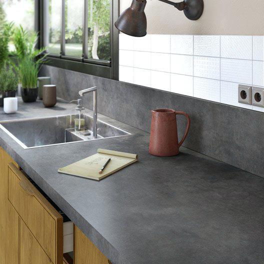 Plan de travail cuisine ardoise prix - Atwebster.fr - Maison et mobilier