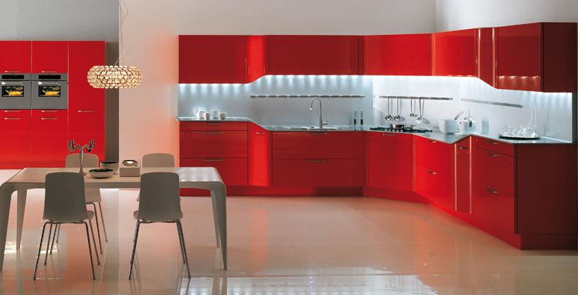 Modele Cuisine Rouge Atwebsterfr Maison Et Mobilier