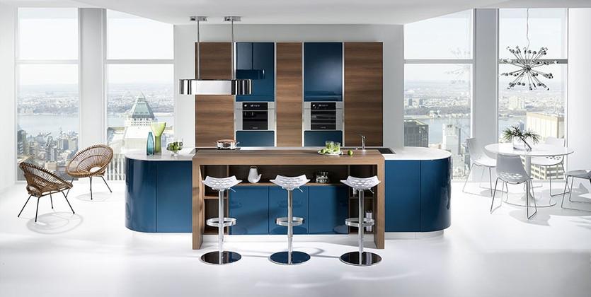 Deco Cuisine Bleu Canard Atwebster Fr Maison Et Mobilier