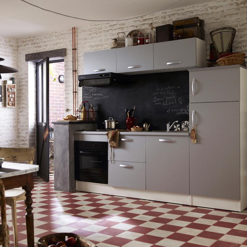 Cuisine équipée 5m2: Modèle Cuisine équipée Leroy Merlin