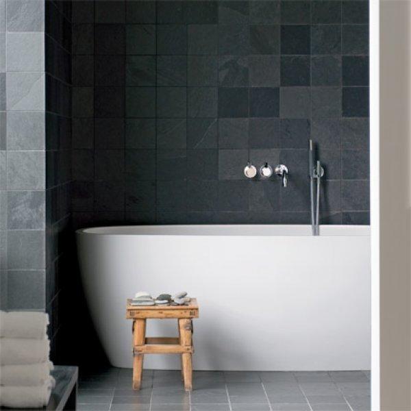 Peinture carrelage gris ardoise - Atwebster.fr - Maison et mobilier