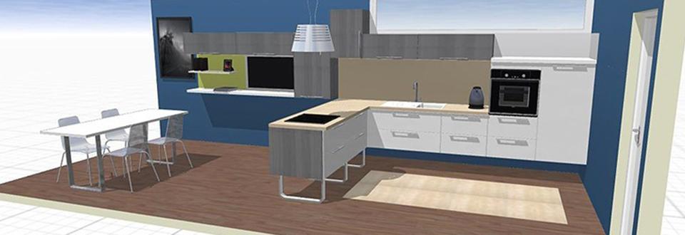 Créer Plan Cuisine 3d Atwebster Fr Maison Et Mobilier