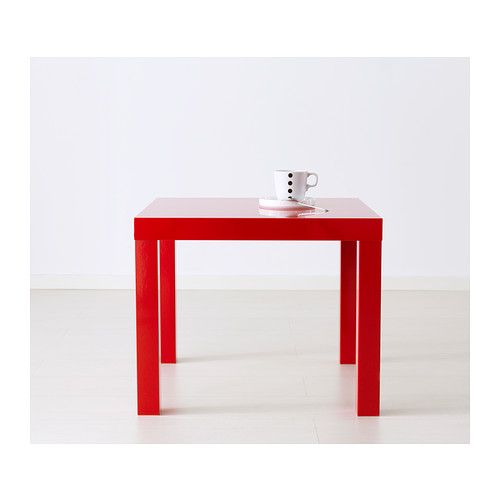Table basse ikea lack rouge maison et mobilier - Ikea table basse lack ...
