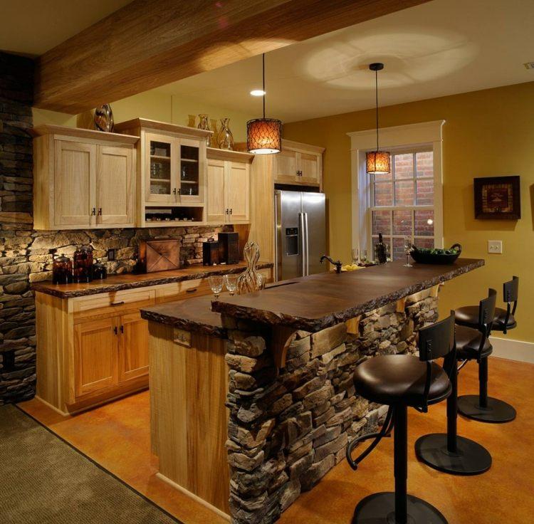 Idee deco cuisine montagne - Atwebster.fr - Maison et mobilier