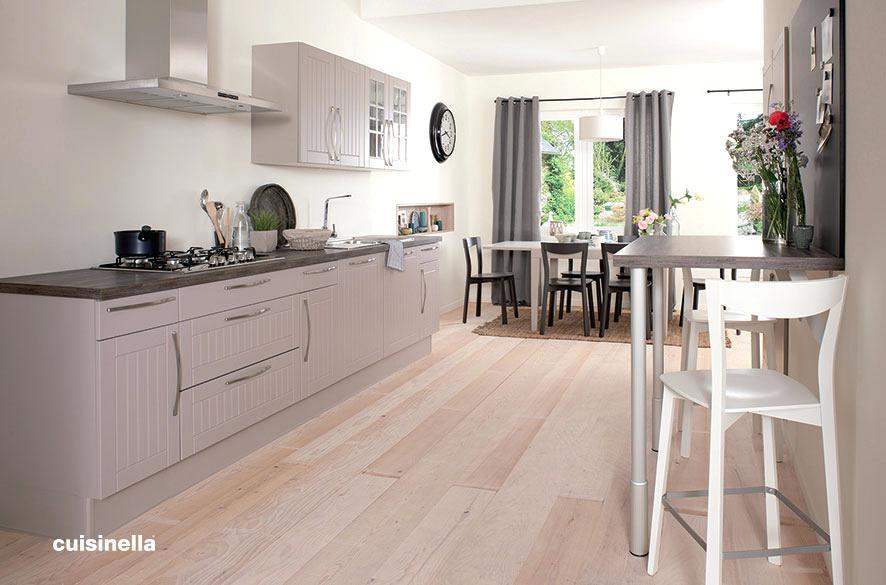 Deco cuisine beige et taupe - Atwebster.fr - Maison et mobilier