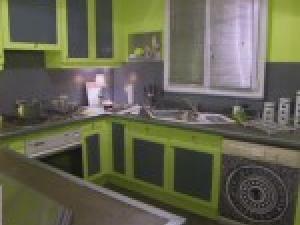 Decoration Cuisine Verte Et Grise Atwebsterfr Maison Et Mobilier