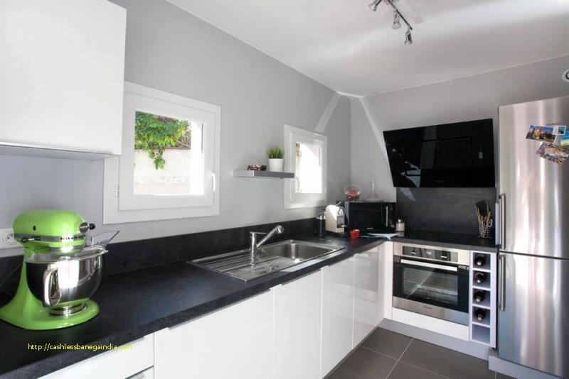 deco cuisine blanc et grise maison et. Black Bedroom Furniture Sets. Home Design Ideas