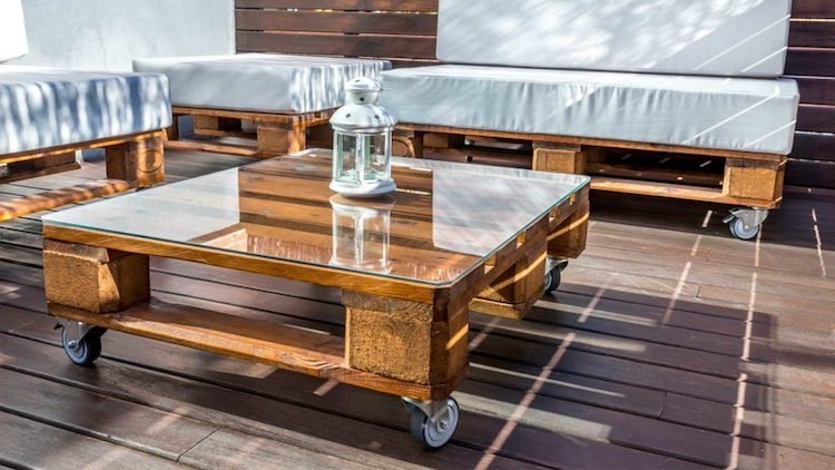Table basse jardin palette - Atwebster.fr - Maison et mobilier