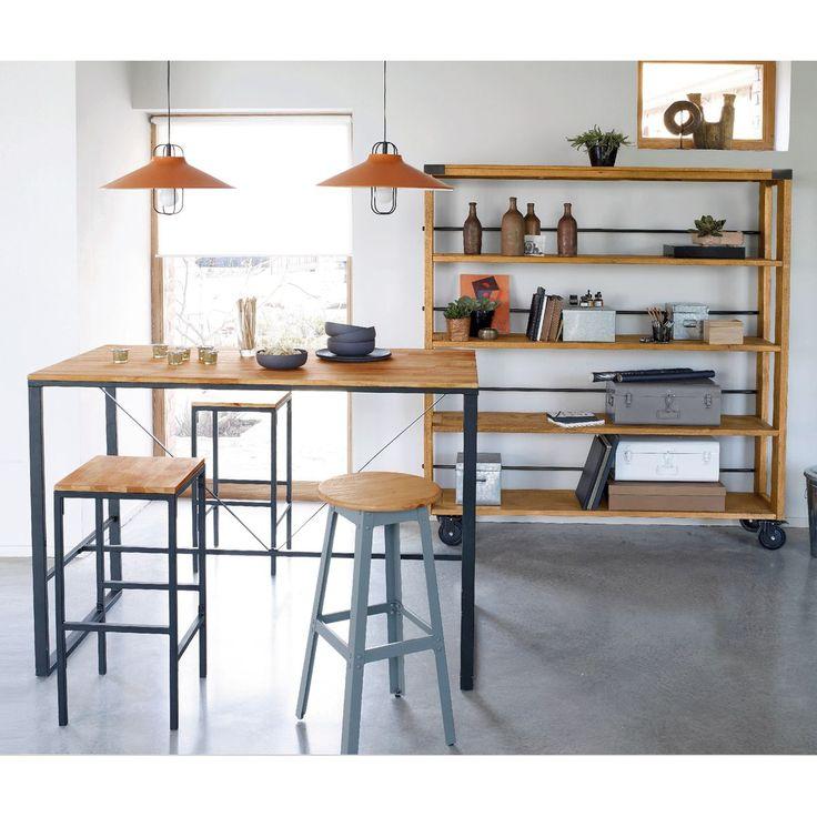 Table bar de cuisine en verre maison et mobilier - Bar de cuisine en verre ...