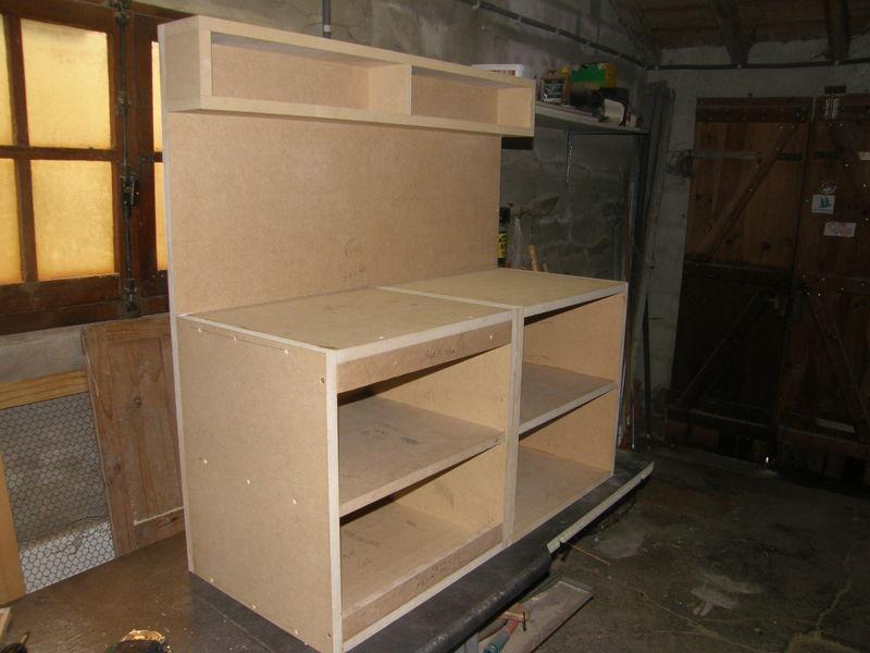 Plan fabrication cuisine en bois maison et mobilier - Fabriquer sa cuisine en mdf ...