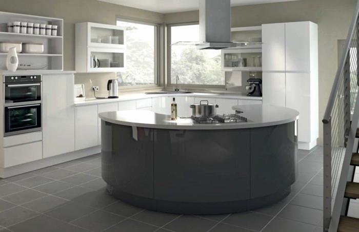 carrelage cuisine mur gris maison et mobilier. Black Bedroom Furniture Sets. Home Design Ideas