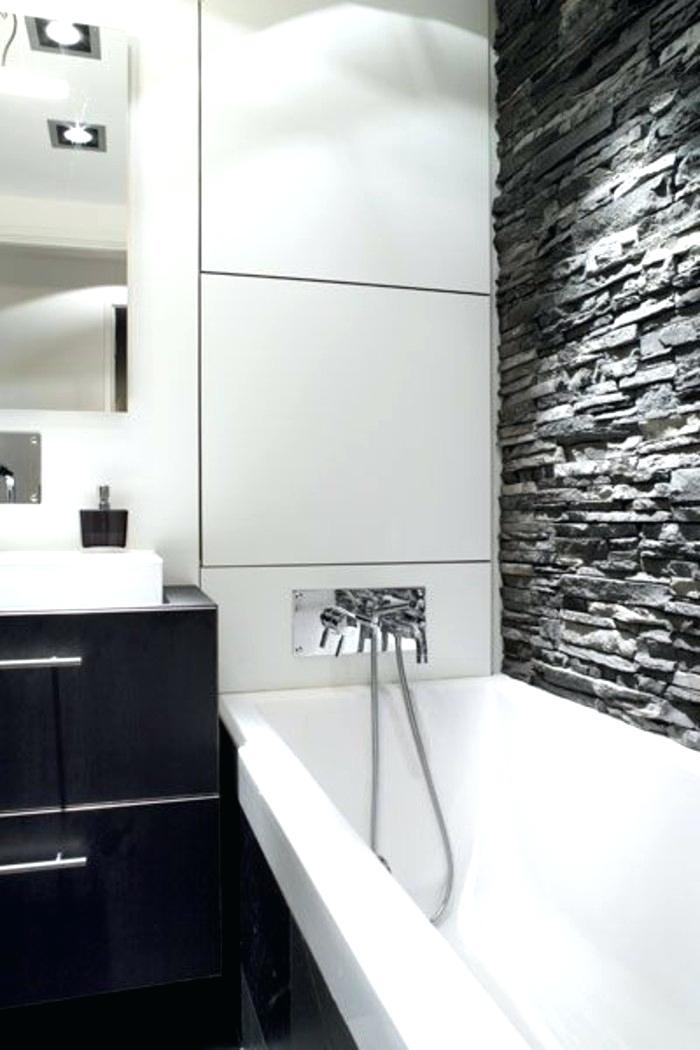 Photo carrelage salle de bain noir et blanc - Atwebster.fr - Maison ...