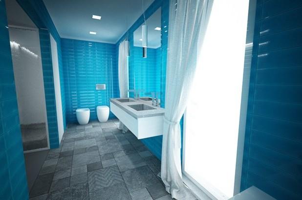 Carrelage salle de bain turquoise - Atwebster.fr - Maison et mobilier