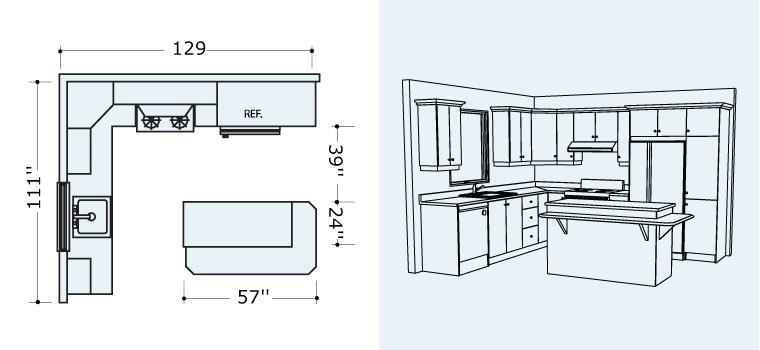 faire plan cuisine 3d maison et mobilier. Black Bedroom Furniture Sets. Home Design Ideas