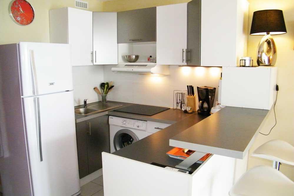 Plan de petite cuisine ouverte maison et mobilier - Plan petite cuisine ouverte ...