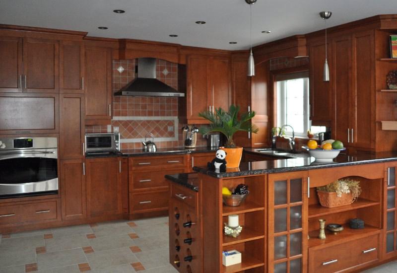 Porte armoire de cuisine en bois maison et mobilier - Meuble shaker ...