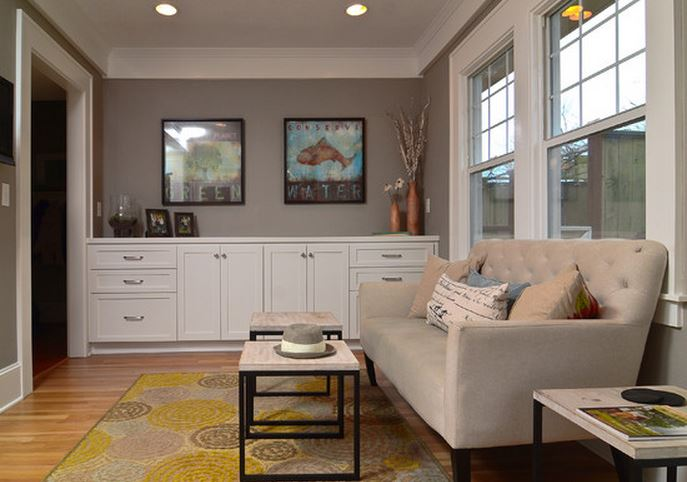 idee peinture cuisine salon maison et. Black Bedroom Furniture Sets. Home Design Ideas