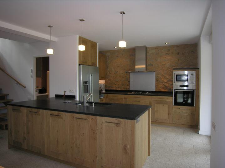 Cuisine Avec Plan Travail Granit Noir Atwebsterfr Maison Et