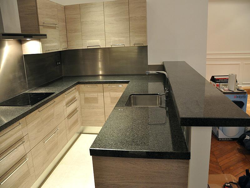 Couleur de granit pour plan de travail cuisine atwebster Couleur plan de travail cuisine