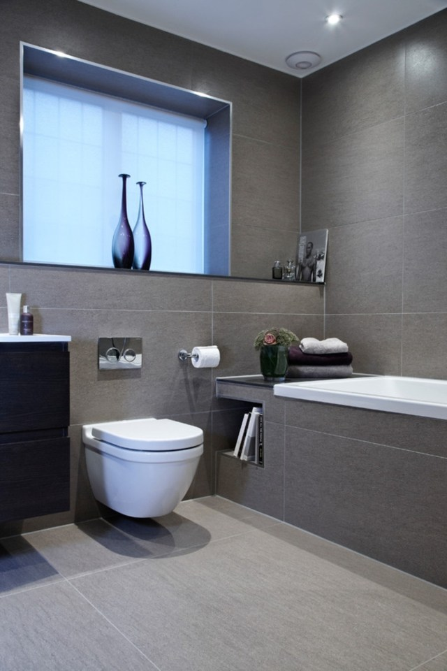 Carrelage gris bleu clair - Atwebster.fr - Maison et mobilier
