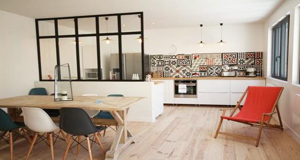 Idee deco mur salon cuisine - Atwebster.fr - Maison et mobilier