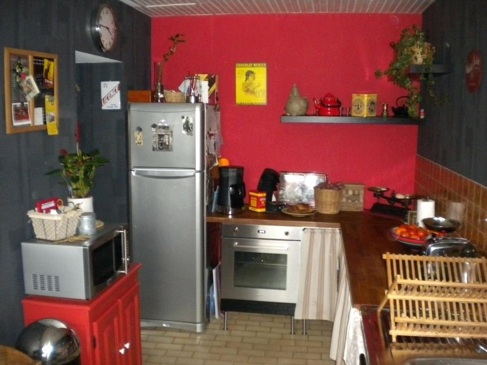 Idee deco pour cuisine pas cher maison et mobilier - Meuble de cuisine noir pas cher ...