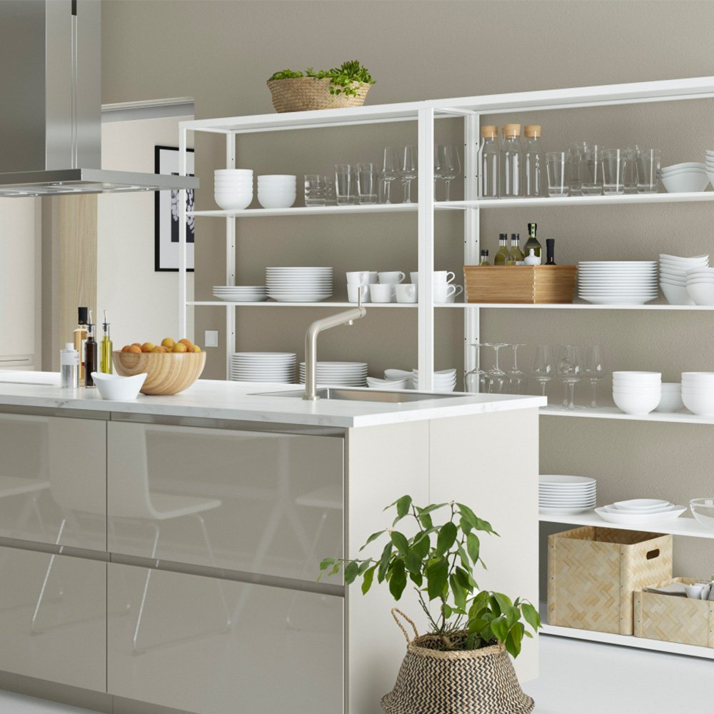 Meuble De Cuisine Plan De Travail: Fixation Plan De Travail Cuisine Ikea