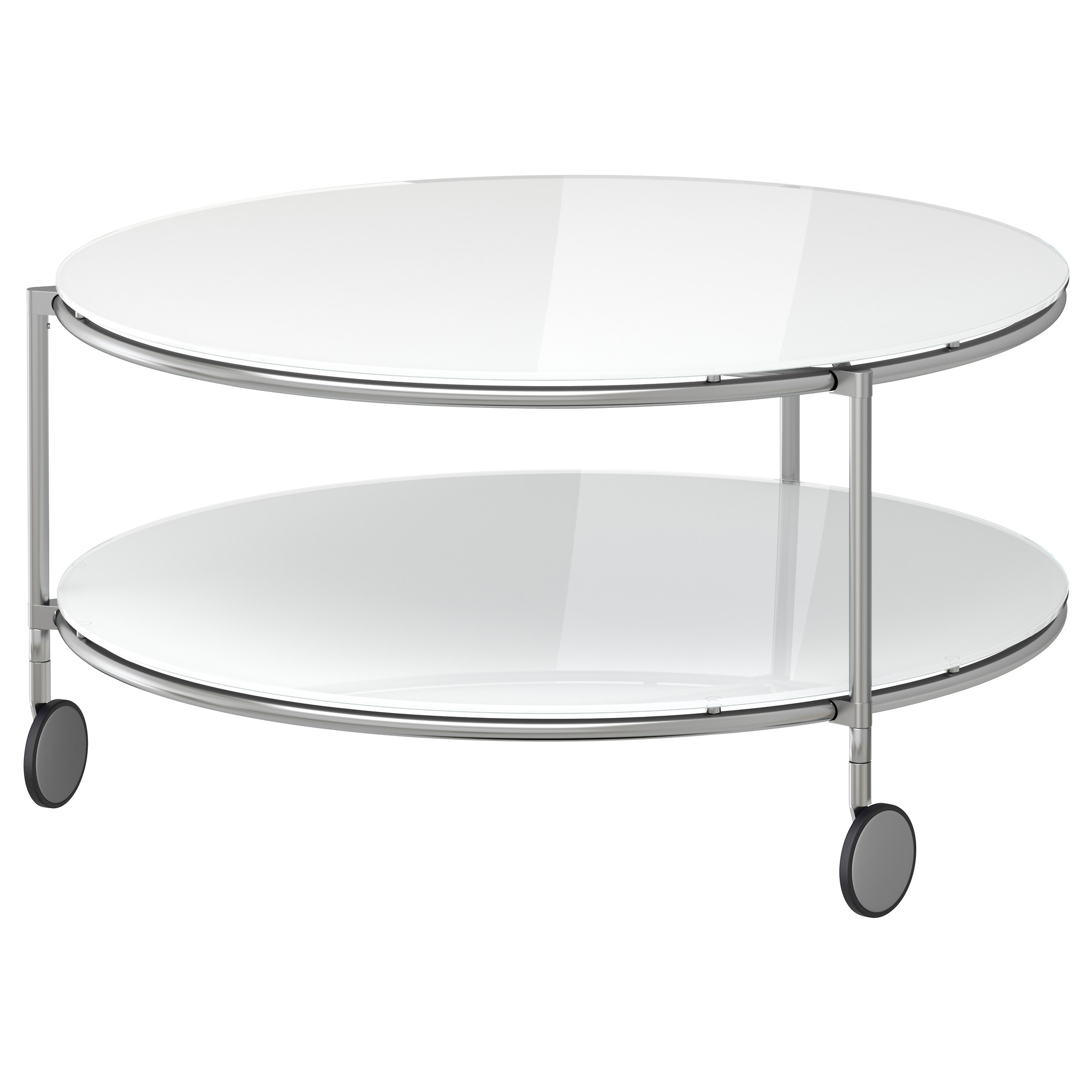Table Basse Ronde Blanche Ikea Atwebster Fr Maison Et Mobilier
