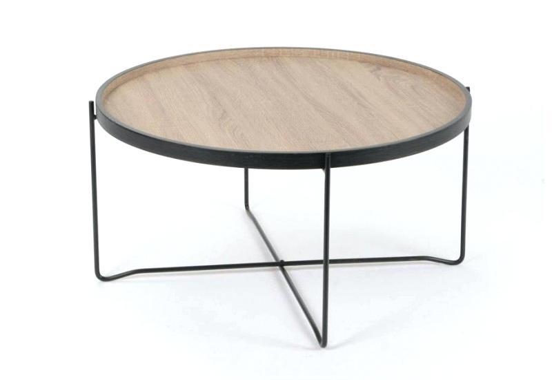 Table basse ronde centrakor